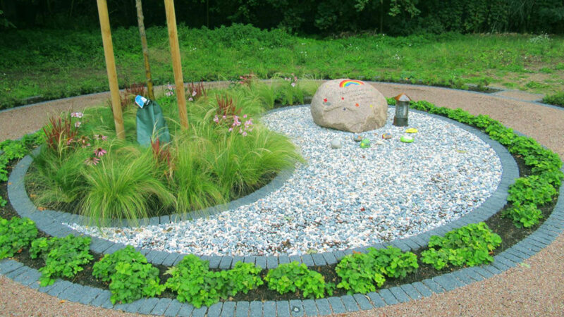 Garten Landschaftsbau Yin Yang