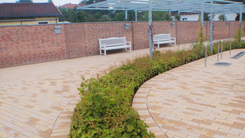 Gartenbau Tagespflege Grünfläche